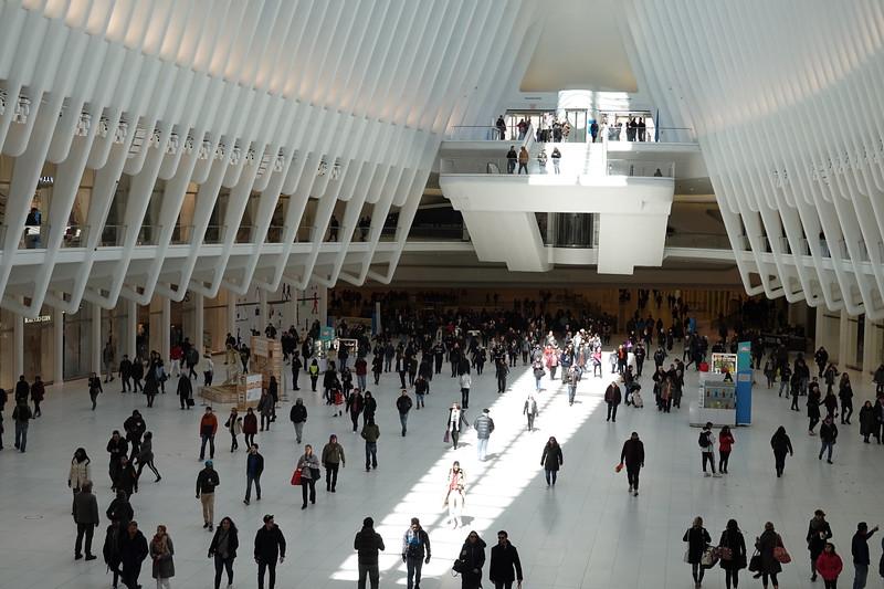 Interior of the Oculus.