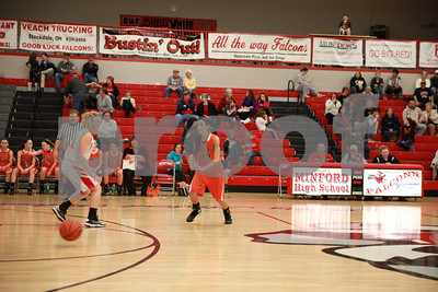 WHS Girls Basketball vs Minford 1-10-13