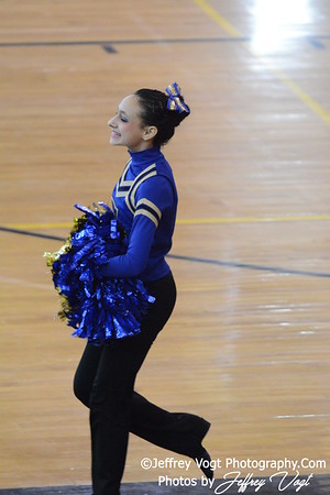 02-01-2014 Gaithersburg HS Poms at MCPS County Championship Division 3,  Photos by Jeffrey Vogt Photography & Kyle Hall