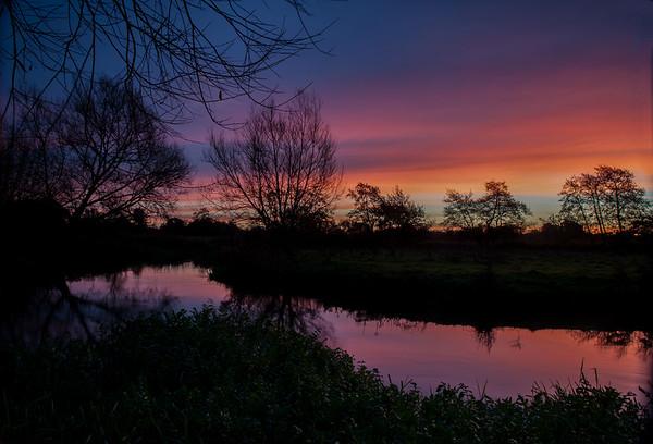 River Wey Sunrise 1