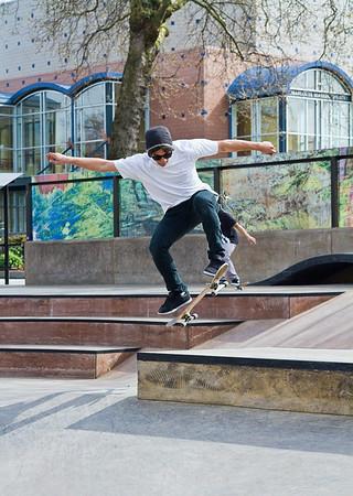 Seattle Center Skateboard Park