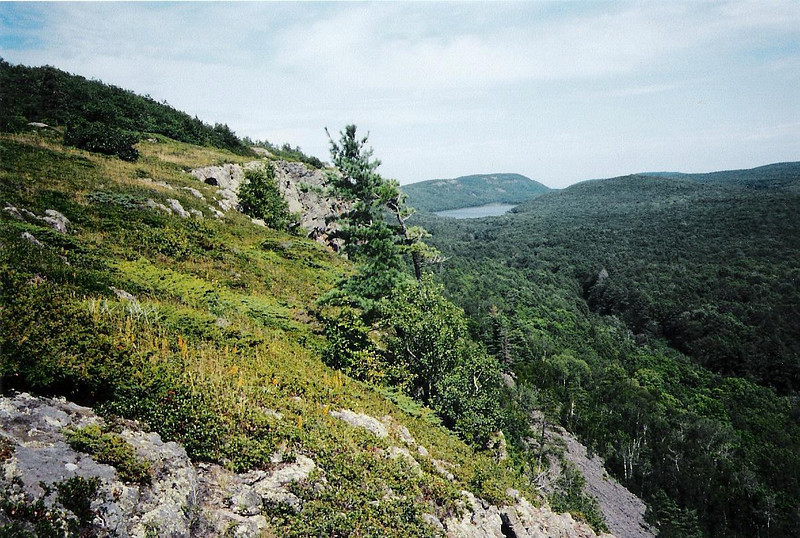Porcupine Mountains, Ontonagon/Gogebic County (August 2000)