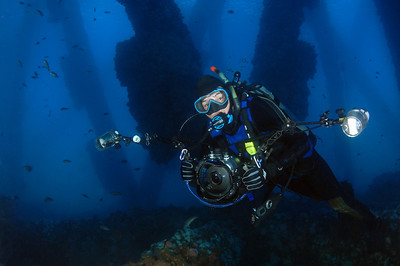 Divers, Seascapes, Artifacts, Dive Sites