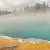 Thermal pool in Yellowstone