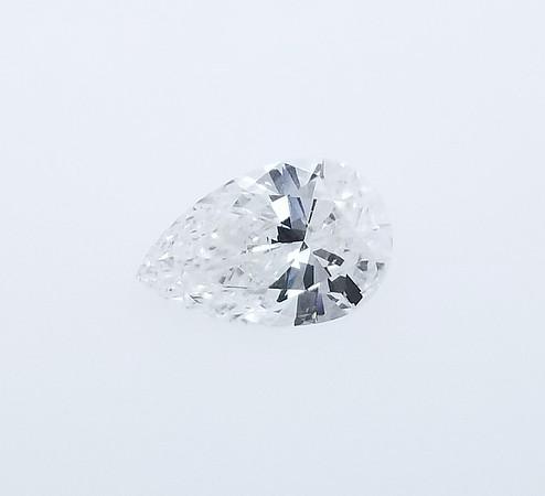 1.55ct Pear Cut Diamond - GIA E, SI1