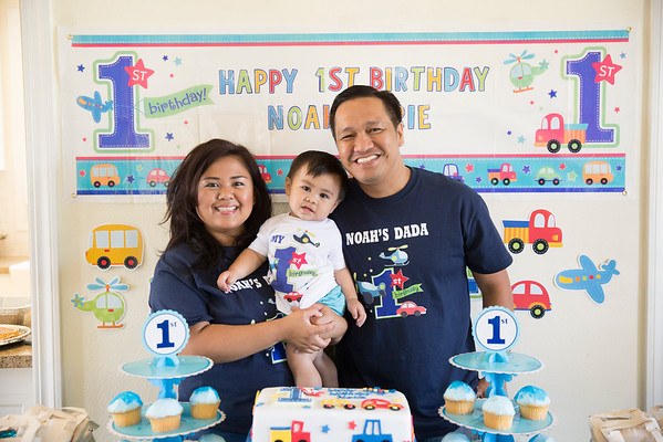Noah's First Birthday