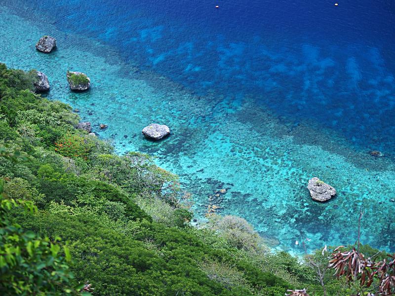 Image Title: Boulders at Flying Fish Cove.  Image No. 2058524b