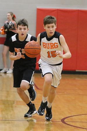 20JH8 Eight Grade:  Wheelersburg vs. West 2017
