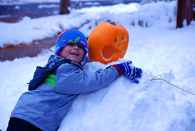 October 2011 - first snow
