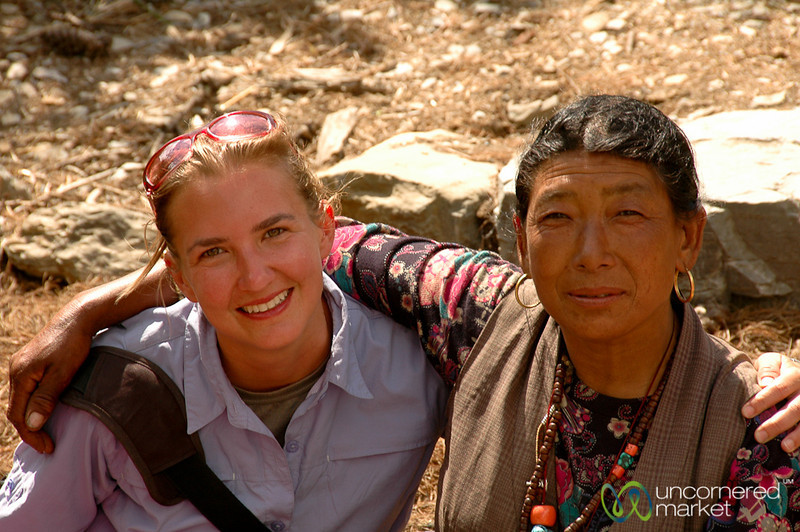 A New Friend - Annapurna Circuit, Nepal