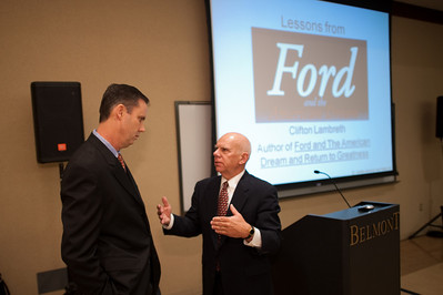 Ethics Speaker Clifton Lambreth Ford Motor Company
