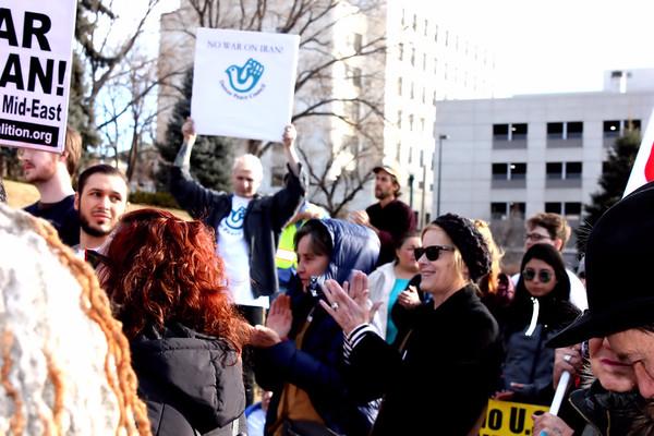 No War Iran Protest