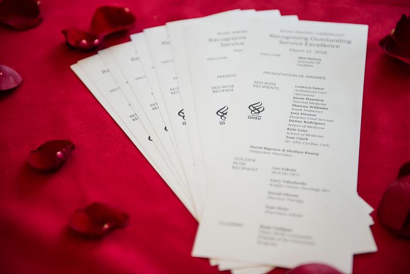 Rose Award Ceremony 3/32/18