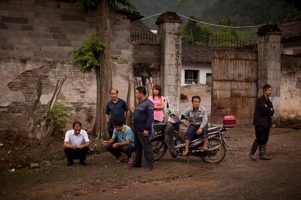 Coal Mining Family, Shaanxi