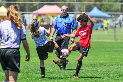 CSC Girls (GU 12 Red) vs La Mesa 5-25-2014