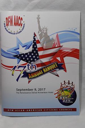9-9-2017 DFW AACC Annual Banquet @ Renaissance Hotel - Richardson