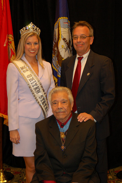 Kayla Downs, Steve Bowers and Silvestre Herrera