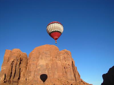 Arizona Monument Valley Balloon Event 2012