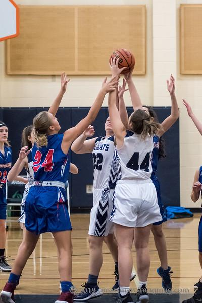 2018-19 Girls JV2 Basketball vs. Churchill