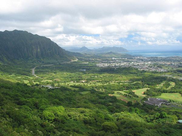 The northern side of Maui, Hawaii.