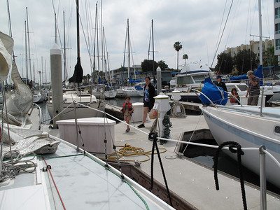 Sail boat ride