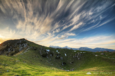 Velika planina with Anton - May 18, 2012