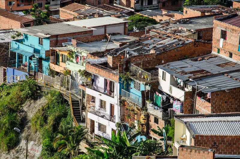 Comuna trece, Medellien.