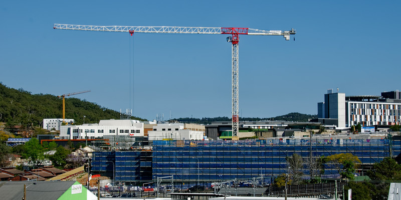 Gosford Hospital building progress H28ed September 2018.