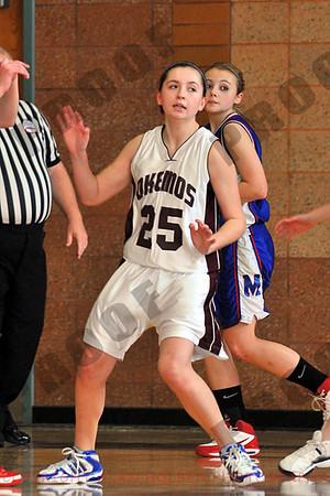 Girls Freshmen Basketball - Mason at Okemos - Feb 8