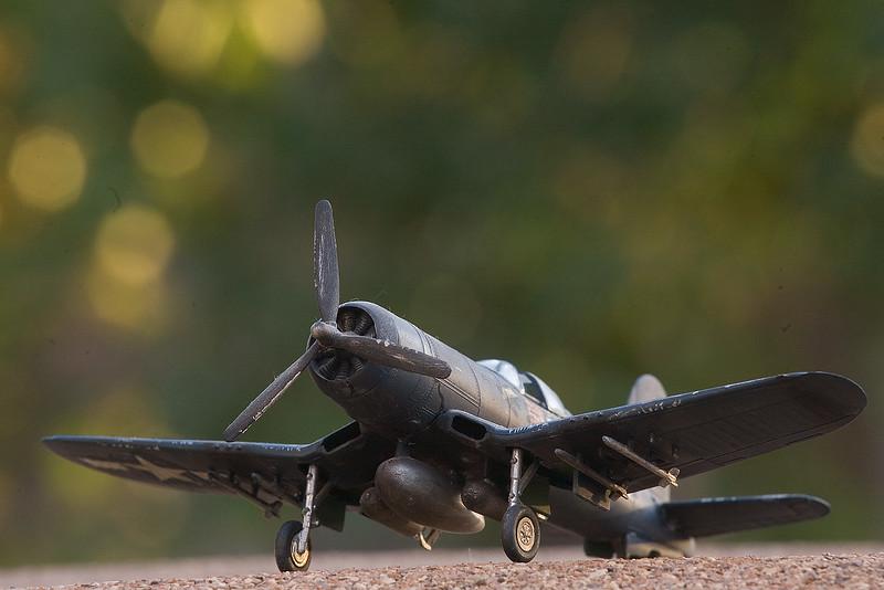 F4U Corsair in 1/72 Scale