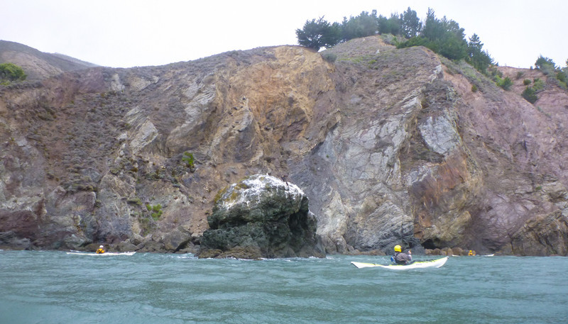 Lots of pillow basalt formations along this stretch of coast.