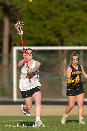 Broughton Lady Caps lacrosse at Middle Creek. February 26, 2019. D4S_1783
