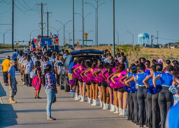 Homecoming Parade and Pep Rally 2015-12