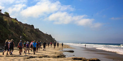 Hike - Torrey Pines Extension, Del Mar & Beach - Sept 6, 2017
