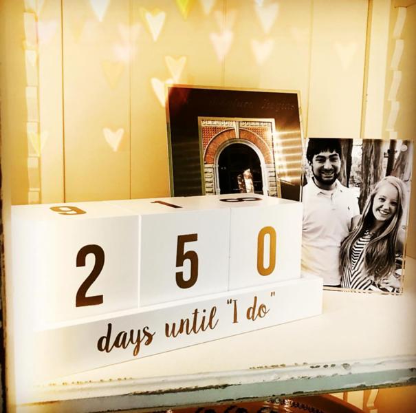 wedding countdown