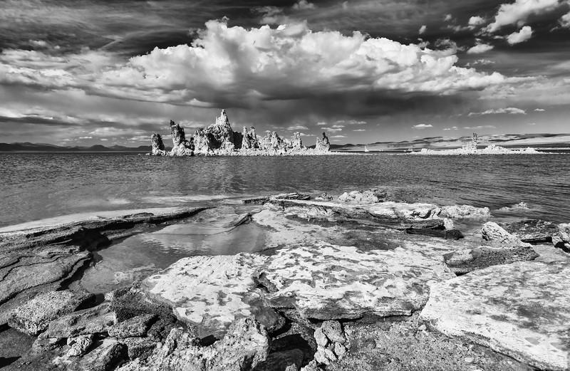 Mono Lake in Monchrome