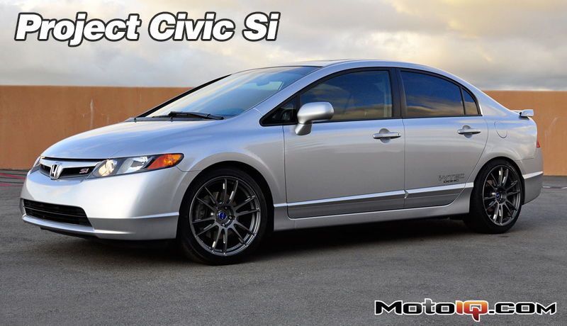 Project Civic SI, wheels and tires