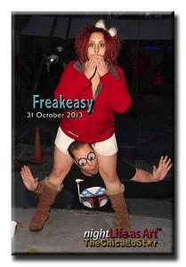 31 Oct 2013 Freakeasy