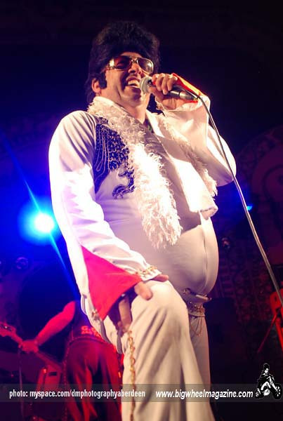 GG Elvis - Rebellion Festival 2009 - Blackpool, UK - August 7, 2009