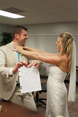 Tearing up of the Marriage  license