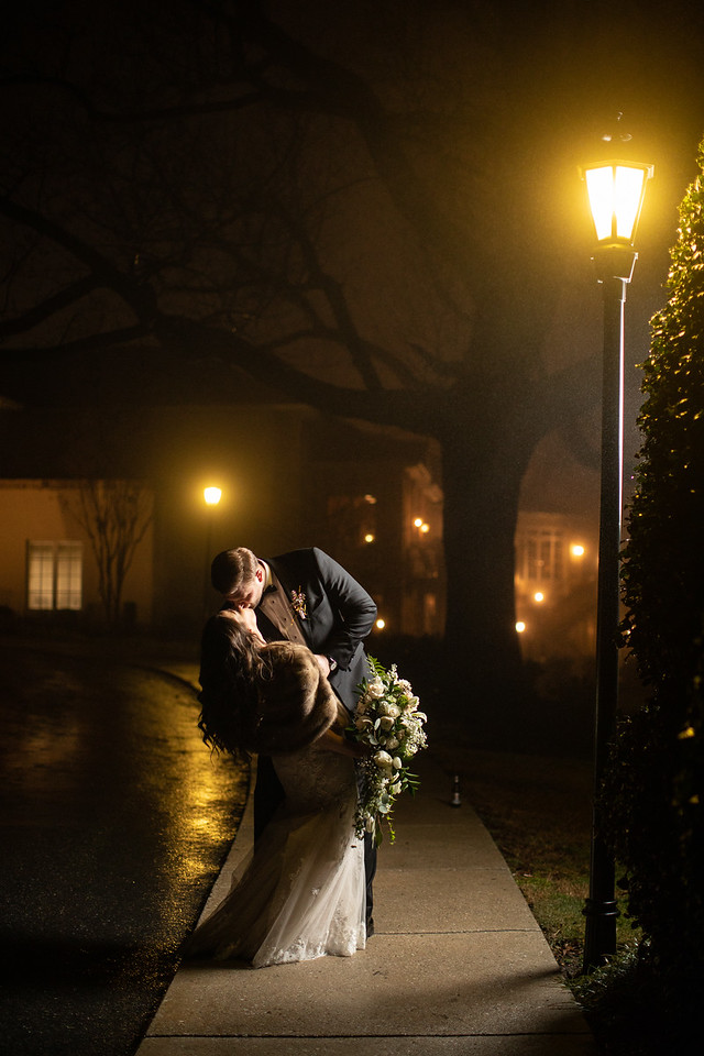 Lizzie and Craig's New Year's Eve wedding in Washington DC at the Norbeck Country Club.