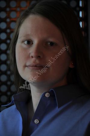 25482 studio portirat Letha Sooter WVU assistant biology professor WV nano