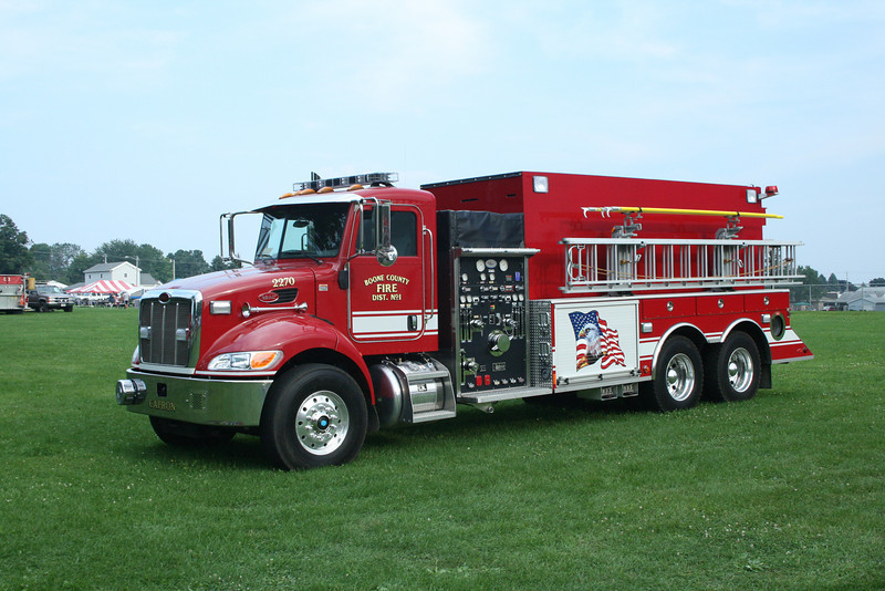 BOONE COUNTY FPD #1 AT CAPRON,IL PETERBILT / US TANKER  MONROE FIRE SCHOOL,WI