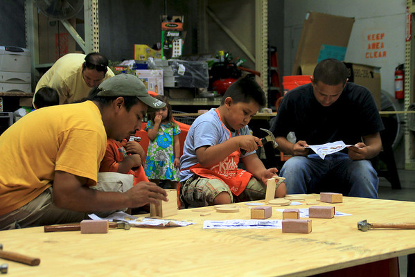 Home Depot Kids Workshop 7-2-11
