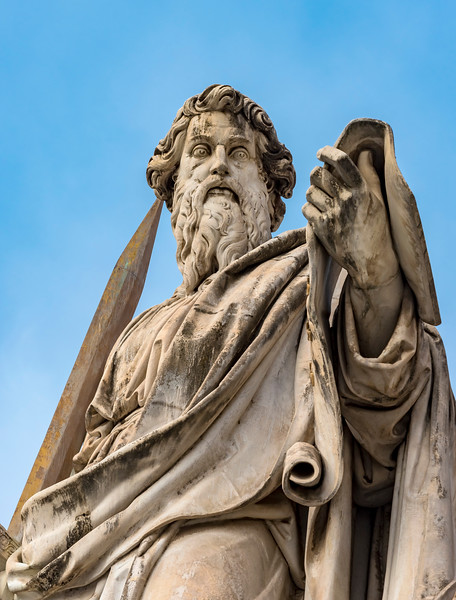 Statue of St. Paul, Vatican