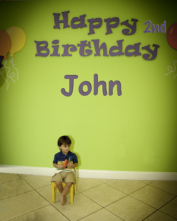 John's 2nd Birthday at Boca Play Station