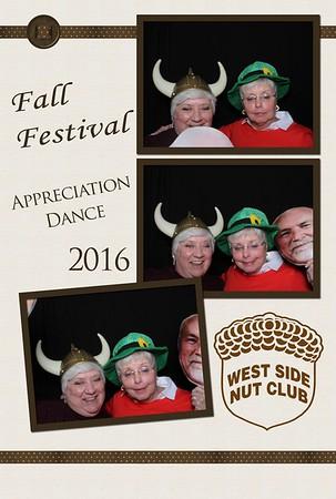 West Side Nut Club - Fall Festival Appreciation Dance
