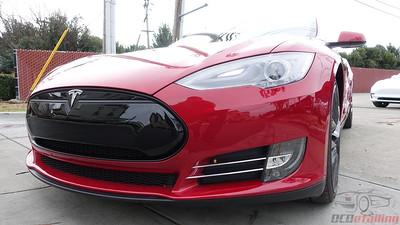 2013 Tesla Model S - Multi-Coat Red