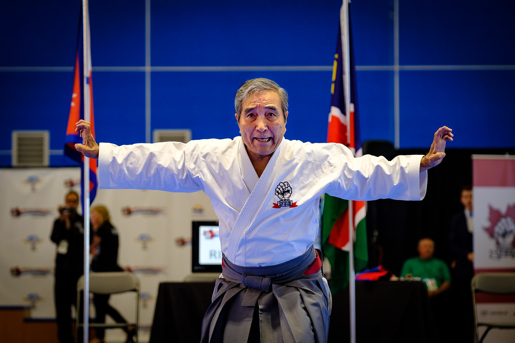 Goshi Yamaguchi, Saiko Shihan, President of IKGA