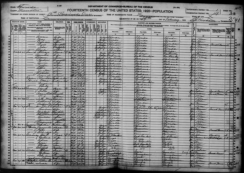 1920 census Smith family in Onesco FL.jpg
